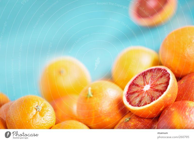 Blutorangen Lebensmittel Frucht Orange vitaminreich Vitamin C Zitrusfrüchte Ernährung Bioprodukte Gesundheit authentisch frisch lecker natürlich saftig sauer