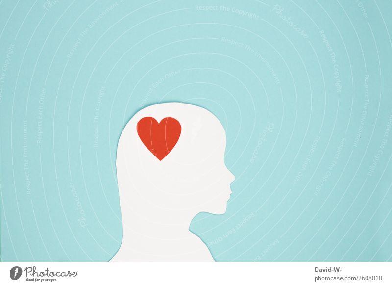 Verliebt Lifestyle elegant Stil Design Mensch feminin Junge Frau Jugendliche Erwachsene Leben Kopf 1 Kunst beobachten Denken Gefühle Herz Gehirn u. Nerven