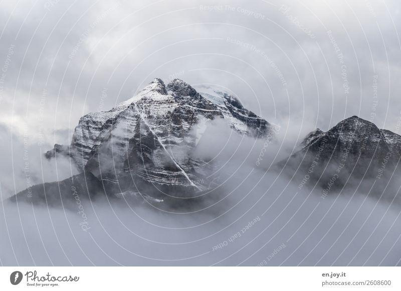 freigeben Ferien & Urlaub & Reisen Winterurlaub Berge u. Gebirge Natur Landschaft Urelemente Wolken Klima Klimawandel Wetter schlechtes Wetter Nebel Eis Frost