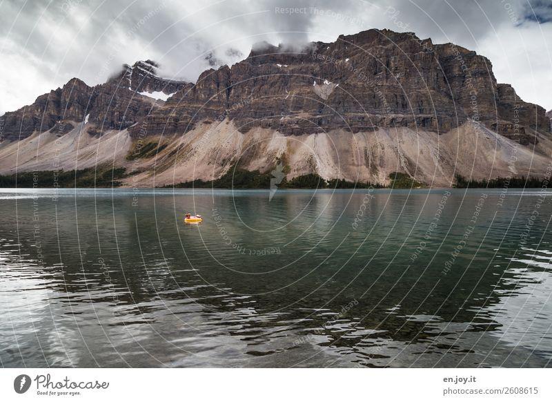 Kälteresistent Freizeit & Hobby Ferien & Urlaub & Reisen Tourismus Ausflug Abenteuer Freiheit Berge u. Gebirge 1 Mensch Umwelt Natur Landschaft Wolken