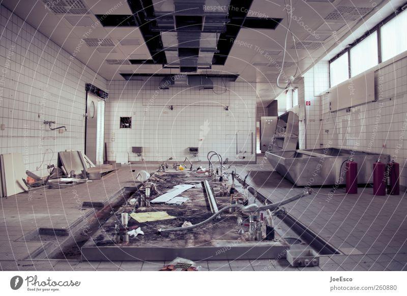 #260880 Renovieren Raum Küche Baustelle Handwerk Architektur Mauer Wand dunkel kalt kaputt Beginn Endzeitstimmung stagnierend Verfall Vergänglichkeit