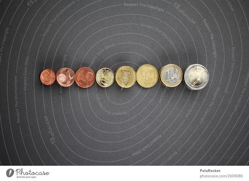 #A# Münz-Wachstum Kunst ästhetisch Geldmünzen Münzenberg viele Euro Evolution Entwicklung wachstumsfördernd Eurozeichen Europäische Zentralbank Bargeld Cent 1 2