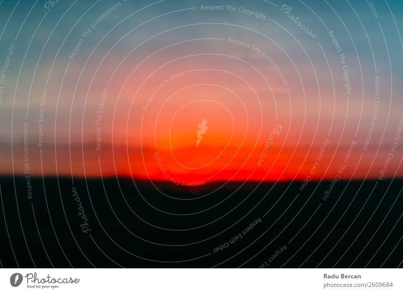 Himmel Natur Ferien & Urlaub & Reisen Sommer blau Farbe schön Landschaft rot Sonne Wolken schwarz Umwelt natürlich Zeit Kunst