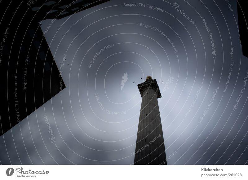 Monument Himmel Ferien & Urlaub & Reisen Stadt alt blau dunkel Architektur Freiheit Stein Tourismus groß Ausflug bedrohlich Unendlichkeit Bauwerk Wahrzeichen
