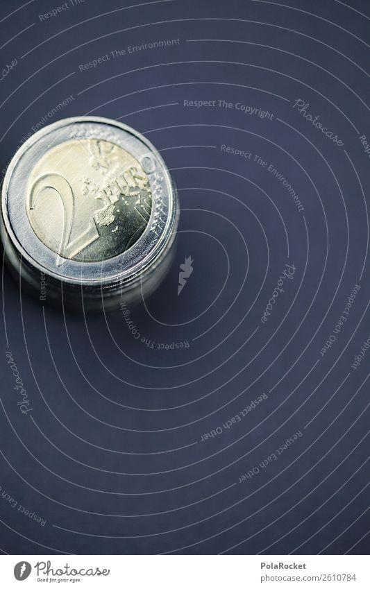 #A# Euro-Zweier Kunst ästhetisch Geld Geldinstitut Geldmünzen Geldgeschenk Geldkapital Geldverkehr sparen Münzenberg Kapitalanlage Eurozeichen Farbfoto
