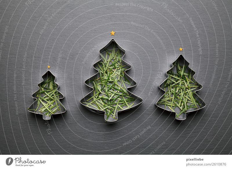 O Tannenbaum Weihnachten & Advent Winter schwarz Feste & Feiern Kreativität Stern (Symbol) Küche Süßwaren Backwaren Weihnachtsbaum Silvester u. Neujahr