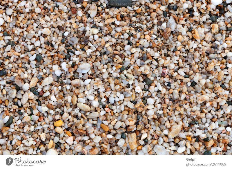 Nasse Steine am Strand Spa Ferien & Urlaub & Reisen Sommer Meer Tapete Natur Felsen Küste Fluss nass natürlich blau grau schwarz weiß Farbe Kieselsteine