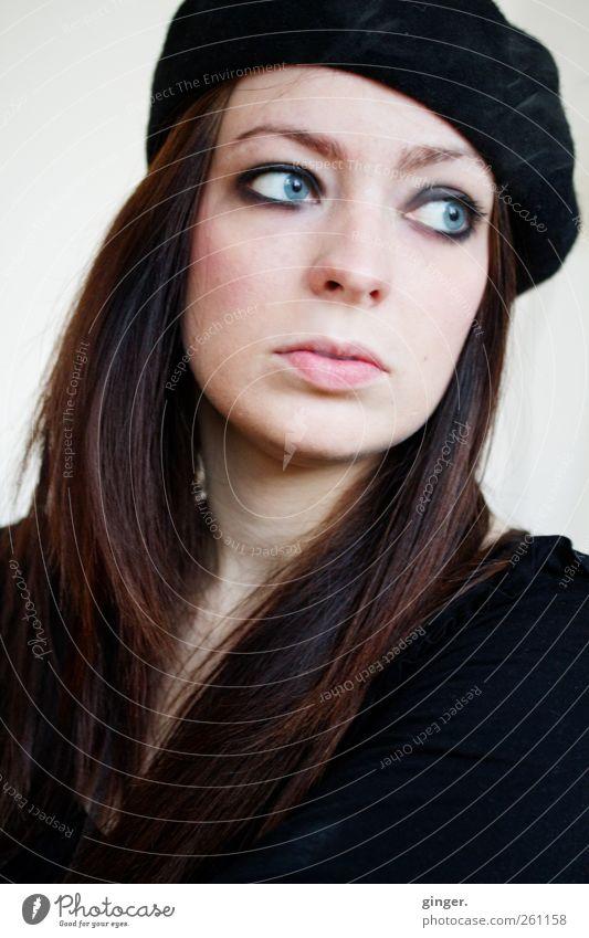 - Bachelor - Mensch Jugendliche schön schwarz Gesicht Erwachsene Leben feminin Kopf Haare & Frisuren Denken außergewöhnlich authentisch 18-30 Jahre Junge Frau