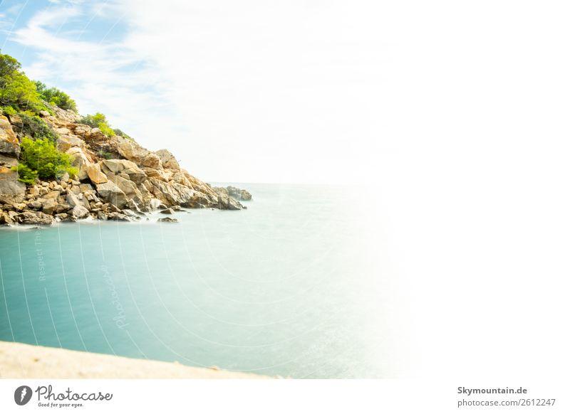 Diffuser Blick auf das Meer vor Mallorca Freizeit & Hobby Ferien & Urlaub & Reisen Tourismus Ausflug Abenteuer Ferne Freiheit Sightseeing Expedition Gefühle