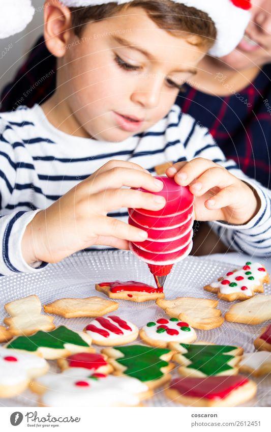 Kind Mensch Jugendliche Junge Frau Weihnachten & Advent Hand Freude Winter Erwachsene Familie & Verwandtschaft Glück Feste & Feiern klein Design