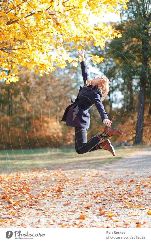 #A# HerbstSprung Kunst ästhetisch springen Sprungbrett sprunghaft Sprungkraft Sprunggelenk Freiheit Leichtigkeit herbstlich Herbstlaub Herbstfärbung