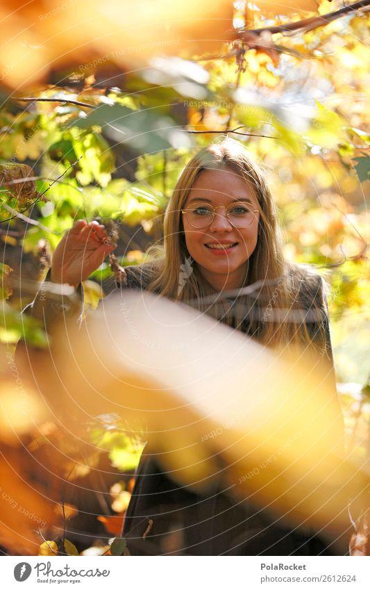 #A# Herbstwald 1 Mensch ästhetisch Zufriedenheit herbstlich Herbstlaub Herbstfärbung Herbstbeginn Herbstlandschaft Herbstwind Wald Außenaufnahme Natur wandern