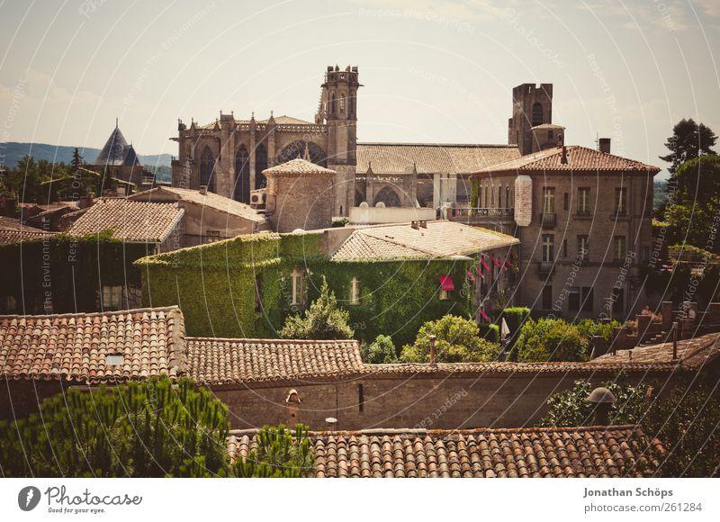 Carcassonne XII alt Stadt Ferien & Urlaub & Reisen Haus Ferne Architektur Freiheit Gebäude Ausflug Abenteuer Tourismus Häusliches Leben Dach Idylle Bauwerk