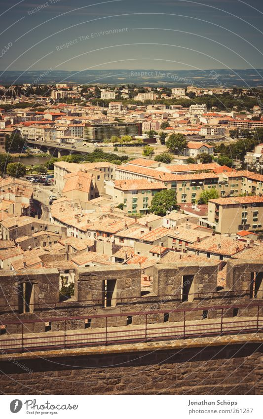Carcassonne XIII Ferien & Urlaub & Reisen Ausflug Abenteuer Ferne Freiheit Städtereise Sommerurlaub Häusliches Leben Haus Südfrankreich Frankreich Stadt