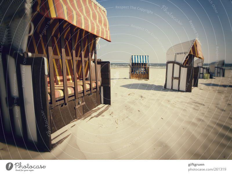 10 euro/tag Himmel Natur Wasser Ferien & Urlaub & Reisen Sommer Meer Strand Umwelt Landschaft Küste Erde geschlossen Perspektive Streifen Urelemente