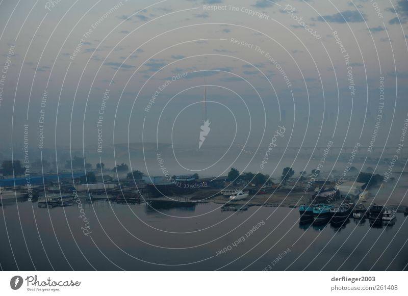 Skyline of Dubai in the early morning Lifestyle Freizeit & Hobby Ferien & Urlaub & Reisen Sightseeing Städtereise Sommer Hochhaus Bauwerk Gebäude Architektur