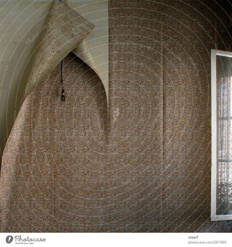welk alt Ferne Stein Linie Innenarchitektur Raum Beton ästhetisch Dekoration & Verzierung Häusliches Leben Streifen einzigartig Vergänglichkeit rein