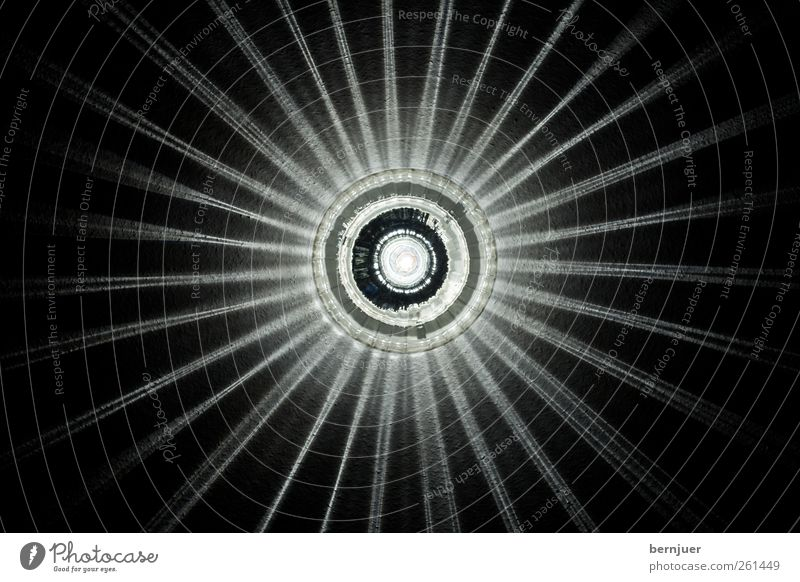 Die Verzückung der Hl. Lucia Skulptur Architektur Mauer Wand Ornament ästhetisch retro schwarz weiß Reinheit Einsamkeit Energie Lampe Deckenlampe Stern (Symbol)