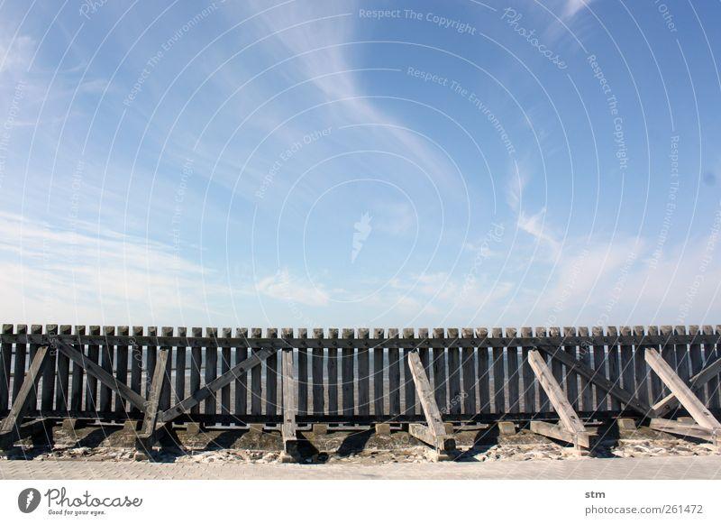 leichtblau [beyond the sea 30] Himmel Natur Wasser Ferien & Urlaub & Reisen Sonne Sommer Meer Strand Wolken Ferne Umwelt Landschaft Freiheit Küste Horizont