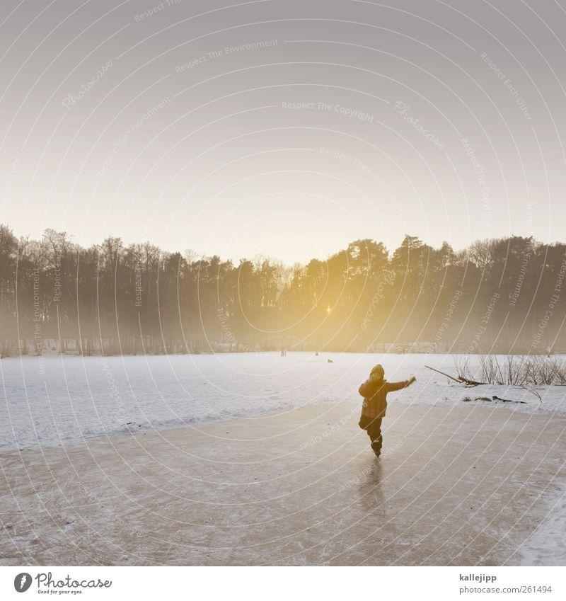 eisprinzessin Mensch Kind Natur Mädchen Winter Umwelt Landschaft Leben kalt Schnee Freiheit See Eis Kindheit Nebel Freizeit & Hobby