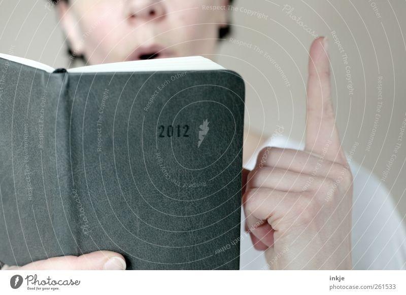 Der Mayakalender ! Freizeit & Hobby lesen Bildung Erwachsenenbildung lernen Lehrer Studium Leben Hand Zeigefinger 1 Mensch Kalender Buch Ziffern & Zahlen