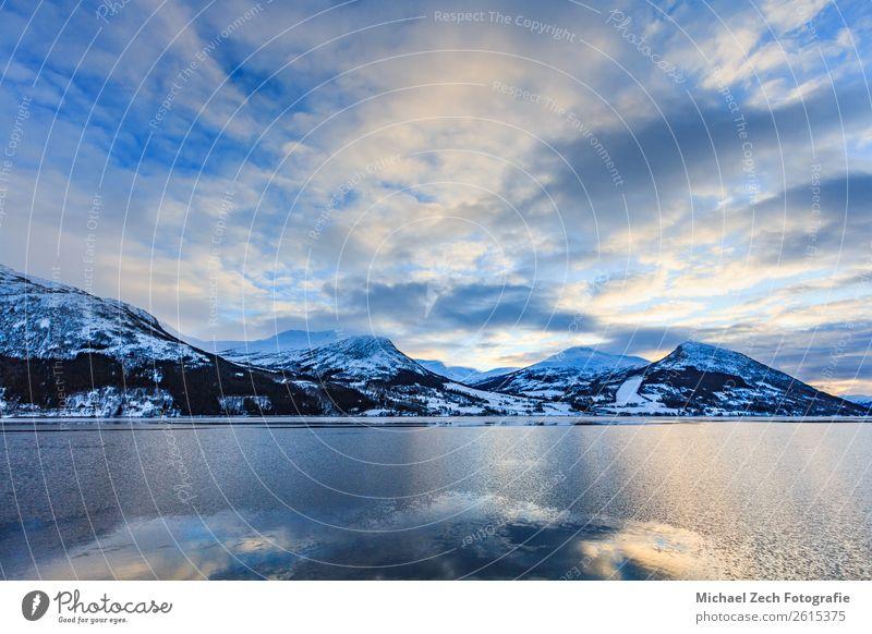 Himmel Ferien & Urlaub & Reisen Natur Sommer blau schön Landschaft Sonne Meer Haus Winter Berge u. Gebirge Schnee Küste Tourismus Europa