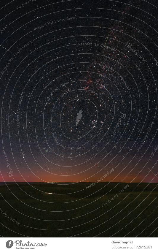 Perseiden 2018 Himmel Natur Sommer Landschaft Berge u. Gebirge Umwelt Wiese Kunst Deutschland Horizont Europa Technik & Technologie ästhetisch Abenteuer