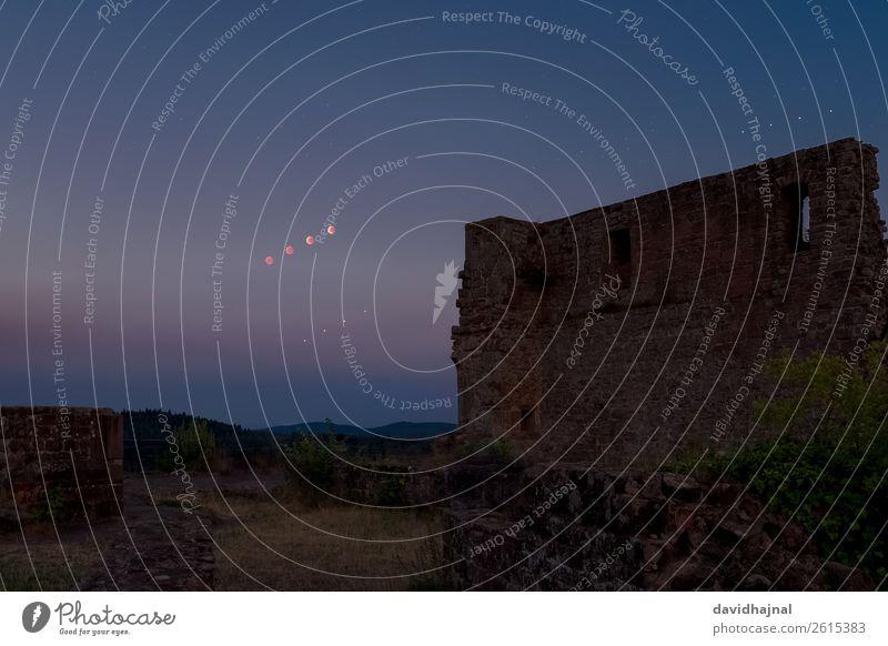 Mondfinsternis 27. Juli 2018 Ferien & Urlaub & Reisen Tourismus Ausflug Abenteuer Technik & Technologie Wissenschaften Fortschritt Zukunft Astronomie Umwelt