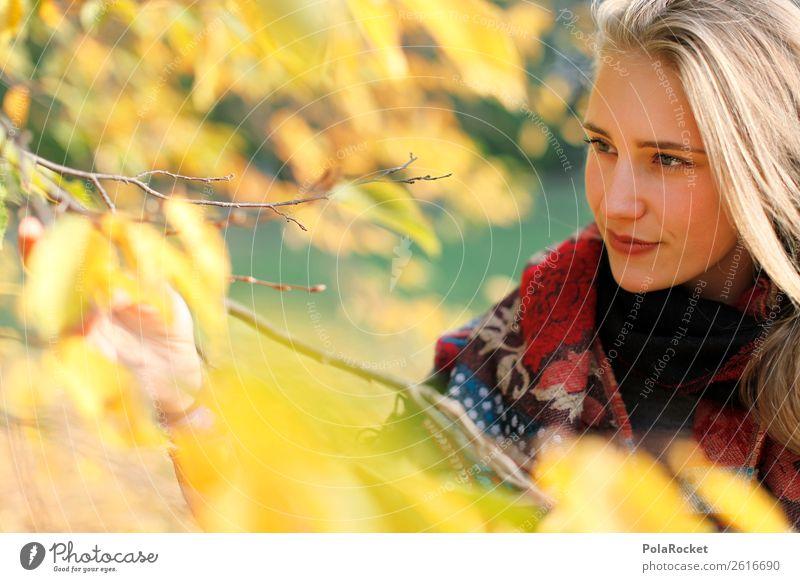 #A# WindGelb Kunst ästhetisch Herbst Schönes Wetter herbstlich Herbstlaub Herbstfärbung Herbstbeginn Herbstwald Herbstwetter Herbstwind Mode Model Frauengesicht