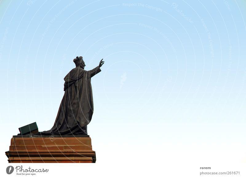 Papst-Skulptur Sydney Australien Kirche Architektur historisch Religion & Glaube Päpste katholisch Kathedrale Heilige beten Bildhauerei Christentum Jesus