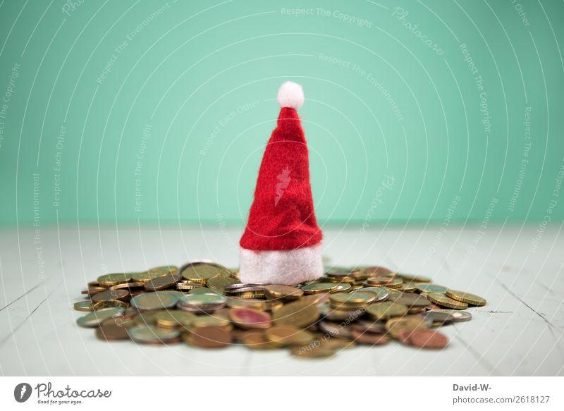 Weihnachtsgeld II kaufen Reichtum elegant Stil Glück Geld sparen Feste & Feiern Weihnachten & Advent Arbeit & Erwerbstätigkeit Wirtschaft Handel