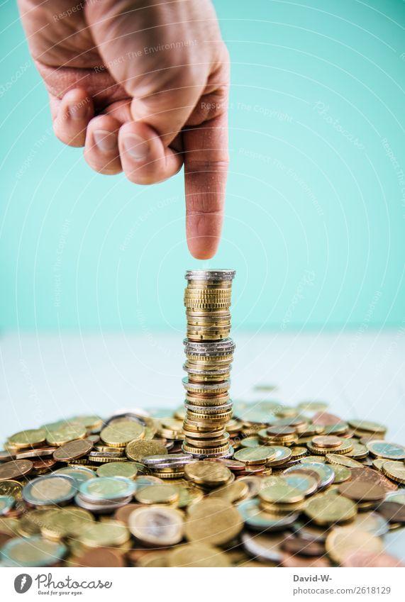 Optimismus elegant Stil Glück Geld sparen Arbeit & Erwerbstätigkeit Wirtschaft Kapitalwirtschaft Börse Geldinstitut Business Karriere Erfolg Mensch maskulin