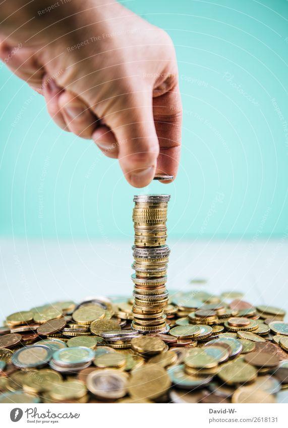 zählen kaufen Reichtum elegant Stil Geld sparen Wirtschaft Handel Kapitalwirtschaft Börse Geldinstitut Business Mittelstand Erfolg Mensch maskulin Mann