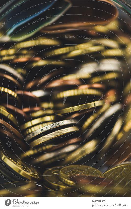 Reichtum Geld sparen Glücksspiel Lotterie Wirtschaft Kapitalwirtschaft Börse Geldinstitut Erfolg Mensch Kunst Leistung Geldgeber Euro Geldmünzen Einkommen Armut