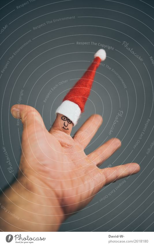 frohe Weihnachten Kind Mensch Mann Weihnachten & Advent Hand Freude Gesicht Lifestyle Erwachsene Leben lustig Familie & Verwandtschaft Glück Stil