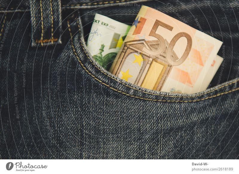 Taschengeld Mensch Mann Erwachsene Leben Glück Business Kunst maskulin Erfolg Armut Geldinstitut Wirtschaft Karriere reich Geldscheine Euro