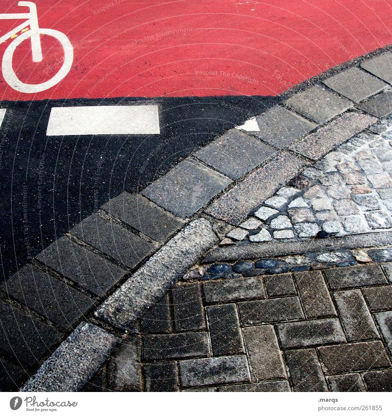 7 Freizeit & Hobby Ausflug Verkehr Verkehrswege Personenverkehr Straße Verkehrszeichen Verkehrsschild Fahrradweg Schilder & Markierungen einfach Sicherheit