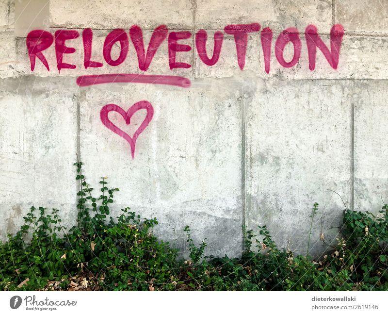 Graffiti Kultur Leben Wandel & Veränderung Demonstration Kampfgeist Liebe Gesellschaft (Soziologie) Zusammenhalt Politik & Staat ungehorsam Außenaufnahme