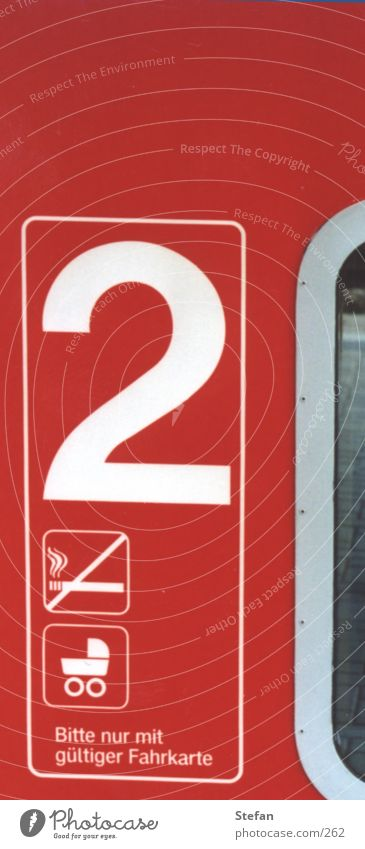"""""""2"""" rot Eisenbahn Schilder & Markierungen"""