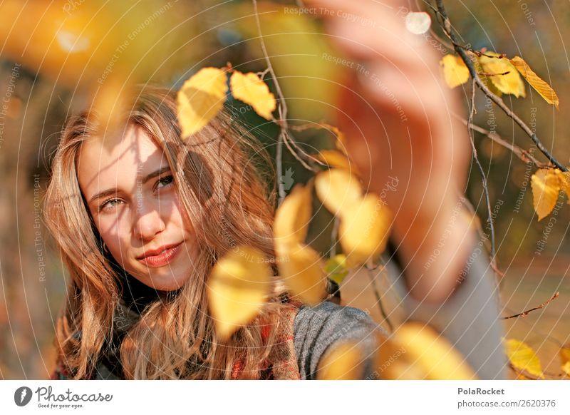 #A# HerbstLicht 1 Mensch ästhetisch Herbstlaub herbstlich Herbstfärbung Herbstbeginn Herbstwald Herbstwetter Herbstlandschaft Model Modellfigur Blick