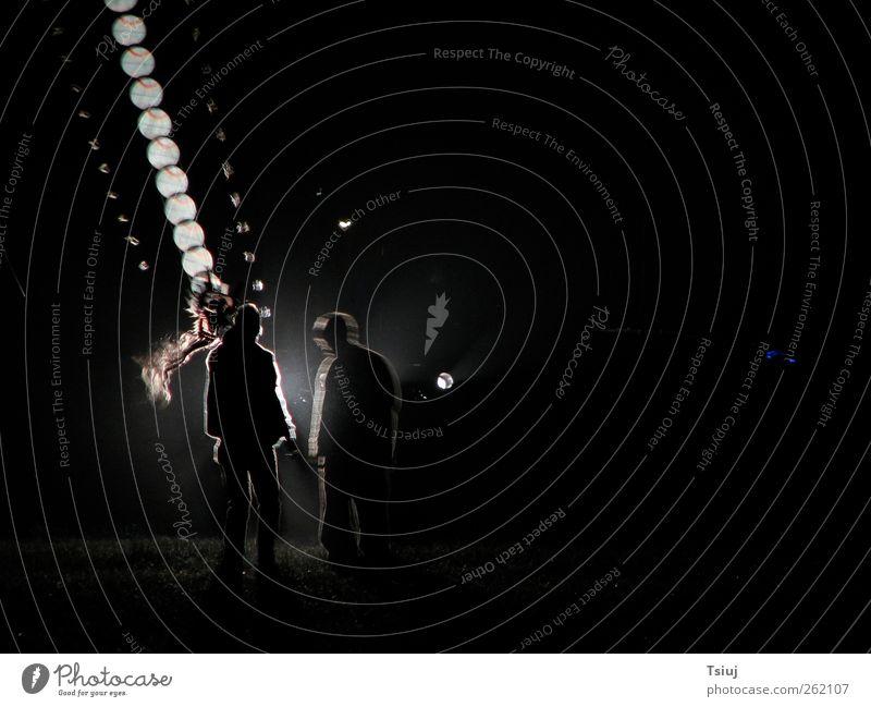 Drachennachtflug Mensch schwarz dunkel Freizeit & Hobby Lenkdrachen Drachenfliegen