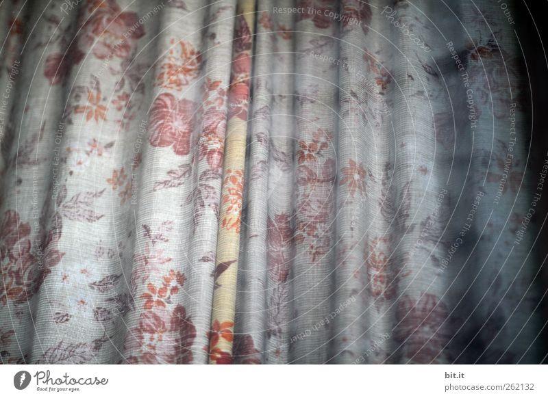 der Garten bleibt heute geschlossen... Handarbeit Häusliches Leben Wohnung Innenarchitektur Dekoration & Verzierung Wohnzimmer hängen dunkel Kitsch schön Schutz