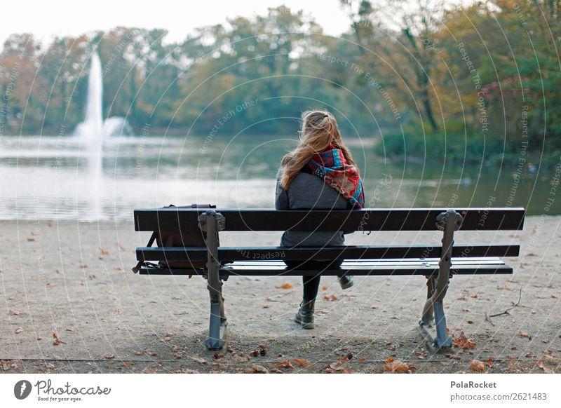 #A# HerbstBank Kunst ästhetisch schlechtes Wetter herbstlich Herbstlaub Herbstfärbung Herbstbeginn Herbstwald Herbstwetter Herbstlandschaft Herbststurm Park