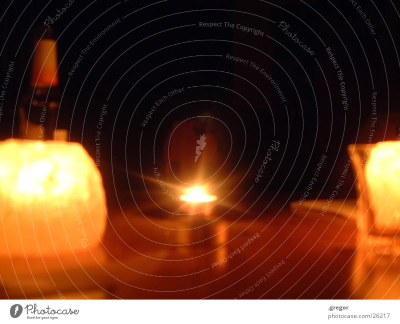 kerzenspiel Lampe dunkel Tisch Kerze Dinge Strahlung