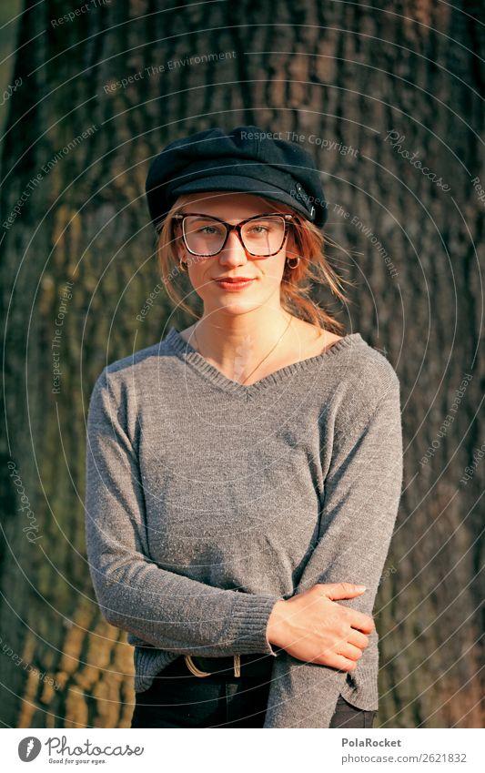 #A# HerbstBlick Kunst ästhetisch Frau Porträt Herbstlaub herbstlich Herbstfärbung Herbstbeginn Herbstlandschaft Mode Model Modellfigur Farbfoto mehrfarbig