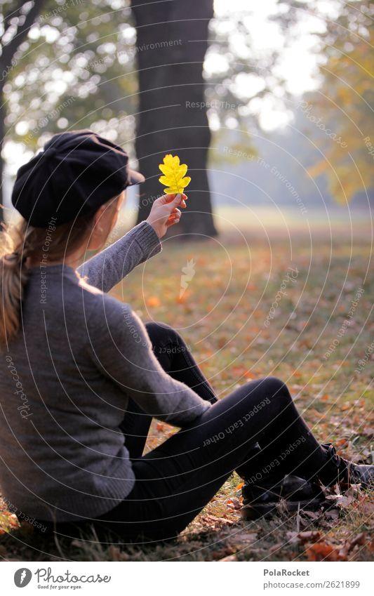 #A# HerbstGüte 1 Mensch ästhetisch herbstlich Herbstlaub Herbstfärbung Herbstbeginn Herbstwald Herbstwetter Farbfoto Gedeckte Farben Außenaufnahme Nahaufnahme