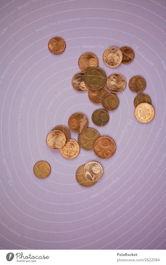#A# Wer den Cent.. Kunst ästhetisch Geldmünzen Geldverkehr Taschengeld wenige Farbfoto mehrfarbig Innenaufnahme Studioaufnahme Nahaufnahme Detailaufnahme