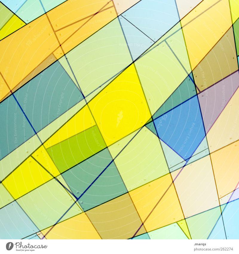 Pastell schön Farbe Stil hell Linie Kunst Hintergrundbild Fassade Ordnung Design frisch modern außergewöhnlich Lifestyle Streifen Coolness