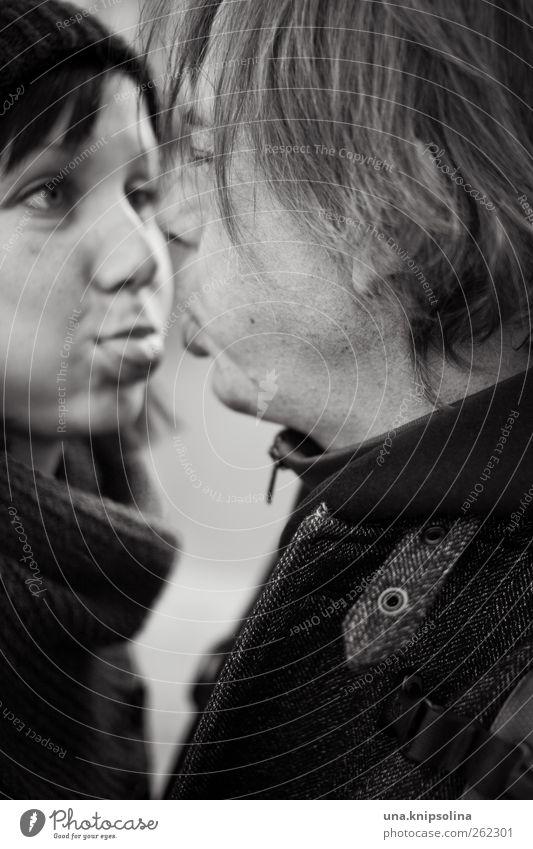 blödbommel Junge Frau Jugendliche Erwachsene Mann Freundschaft Paar Partner 2 Mensch 18-30 Jahre 30-45 Jahre authentisch frech Fröhlichkeit Zusammensein