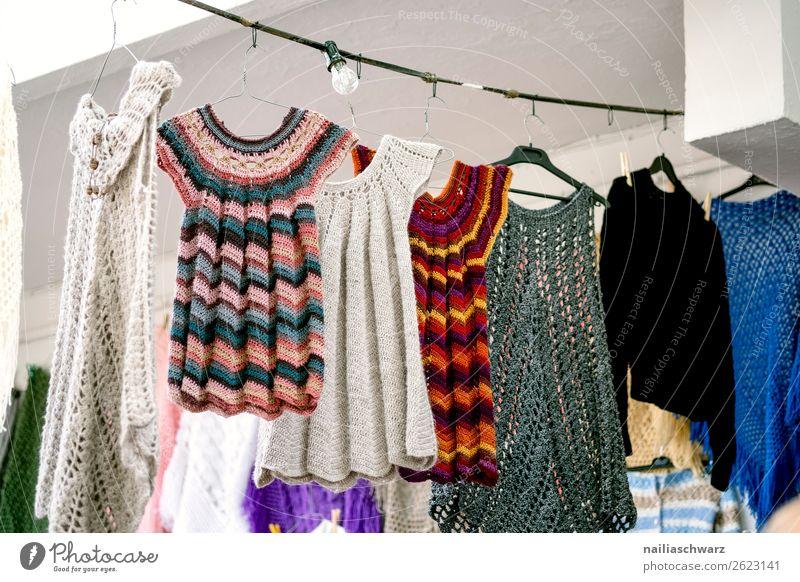 Impression von Crete im Sommer Lifestyle Stil stricken Ferien & Urlaub & Reisen Tourismus Sommerurlaub Natur Dorf Kleinstadt Marktplatz Mode Bekleidung Kleid